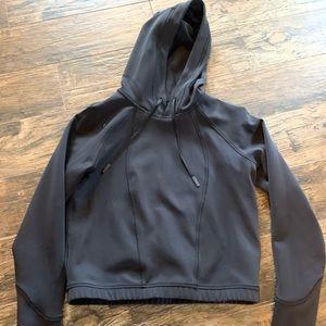 Lululemon athletica cropped hoodie